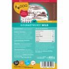 Gourmetwurst Wild 400g (1 Piece)